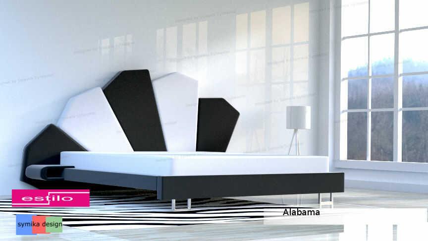 Łóżko do sypialni Alabama - meble do sypialni