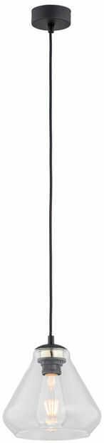 Lampa wisząca Decorato 4047 Argon nowoczesna oprawa w kolorze czarnym
