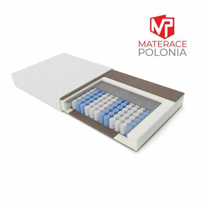materac kieszeniowy SZLACHECKI MateracePolonia 80x200 H3 + Dostawa i zwrot za DARMO