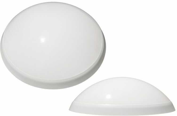 Plafoniera PANTERA 25W E27 biały pierścień, klosz mleczny D.3190M