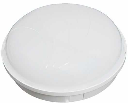 Oprawa oświetleniowa PANDA okrągła 25W E27 duża, biała podstawa, klosz mleczny D.3175M