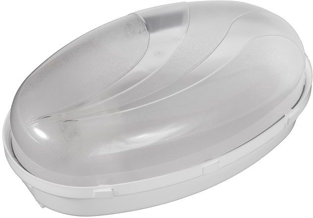 Oprawa oświetleniowa PANDA oval duża biała podstawa, klosz przeźroczysty D.3176