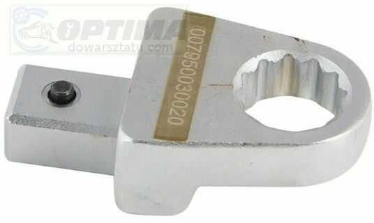 Nasadka Do Klucza Dynamometrycznego Do Odkręcania Końcówki Wtryskiwacza Denso, Rozmiar 19mm (Uchwyt 14x18mm)