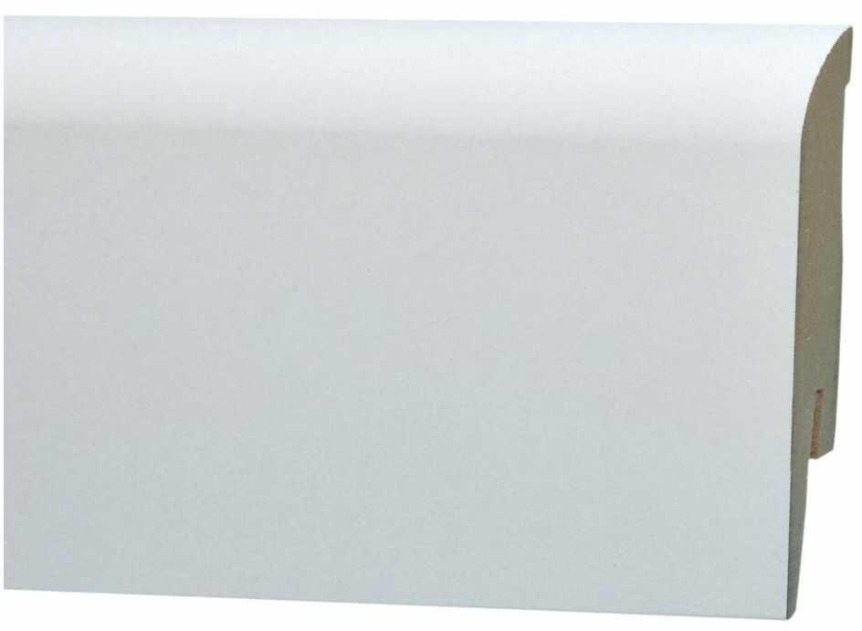 Listwa przypodłogowa mdf biała MP 1004 100 mm Arbiton
