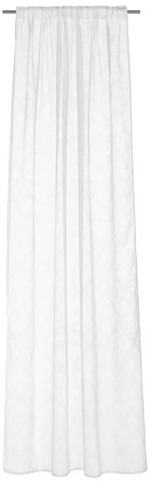 Firana na taśmie Gloria 140 x 260 cm biała Inspire