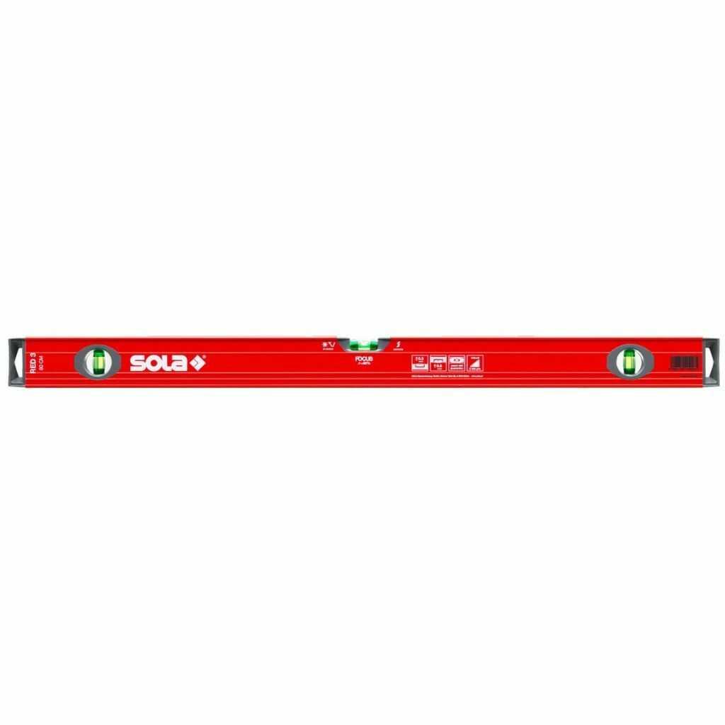 Poziomica SOLA RED3 80cm