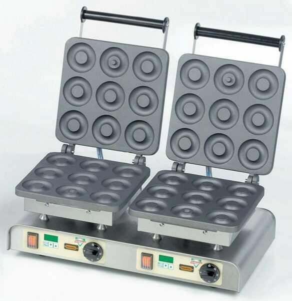 Gofrownica podwójna Dony Donut 400V / 4,4kW