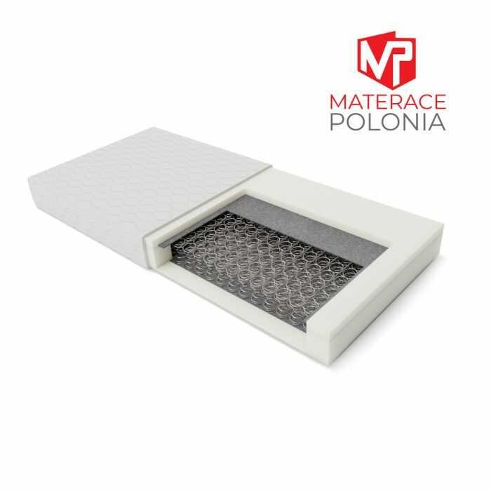 materac bonellowy ARYSTOKRATA MateracePolonia 100x200 H2 + 10 lat gwarancji