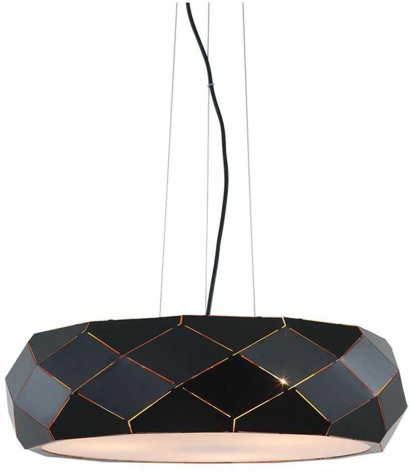 Lampa wisząca REUS czarna E27 LIGHT PRESTIGE