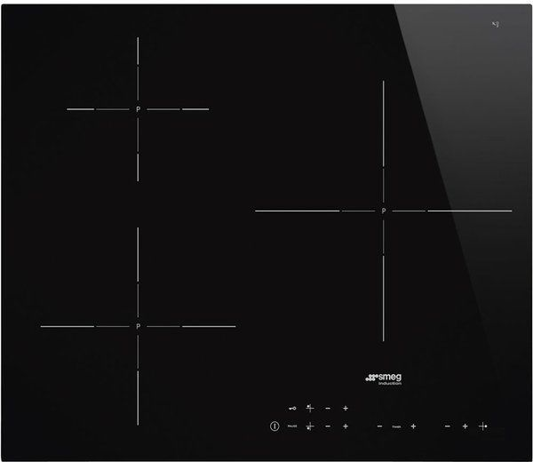 Płyta Smeg SI5632D Czarny +k. rabat. 100 zł!