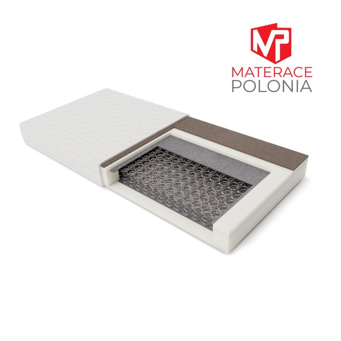 materac bonellowy SARMATA MateracePolonia 140x200 H2 H3 + RATY