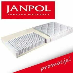 Materac multipocket z lateksem Janpol ANDROMEDA H2 160 x 200
