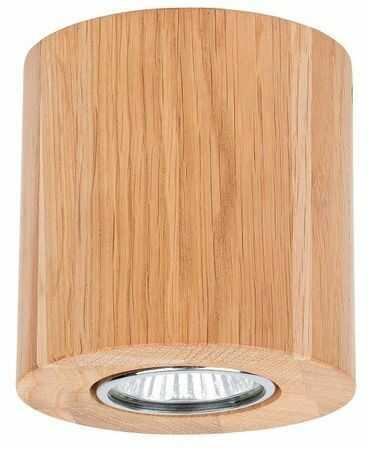 Lampa sufitowa WOODDREAM 5 W drewno dębowe kolor dąb olejowany 2566174