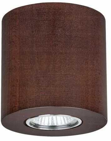 Lampa sufitowa WOODDREAM 6 W drewno bukowe kolor orzech 2066176