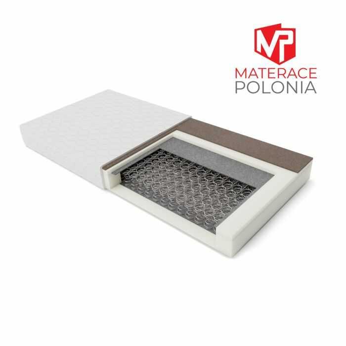 materac bonellowy SARMATA MateracePolonia 140x200 H2 H3 + testuj 25 DNI