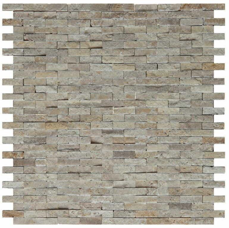 DUNIN Mozaika kamienna ZEN Travertine Brick