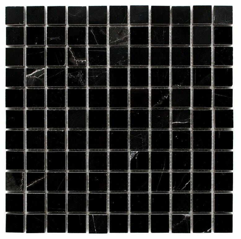 DUNIN B&W Black & White mozaika kamienna Pure Black 25