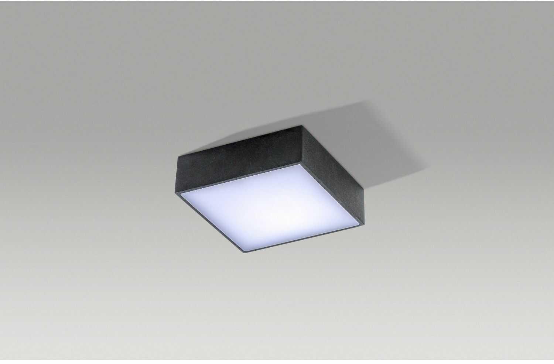 Falco 12 3000K LED plafon 1-punktowy czarny AZ2782
