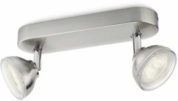 Philips Toscane 53242/17/16 lampa reflektory spoty srebrne