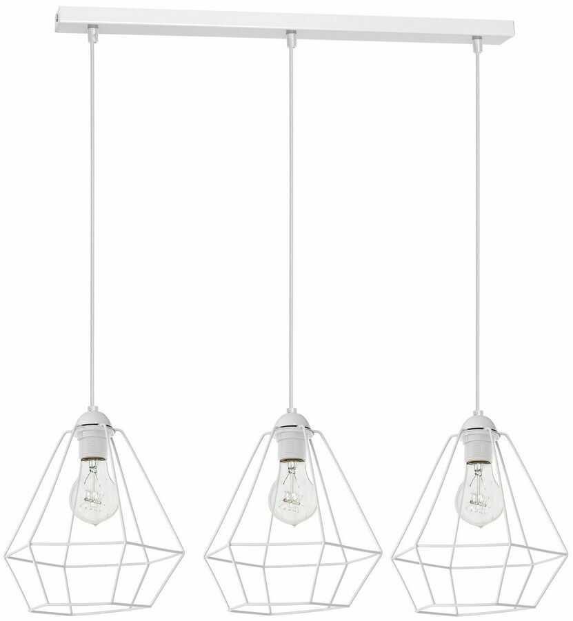 Lampa wisząca ALMA WHITE 3xE27