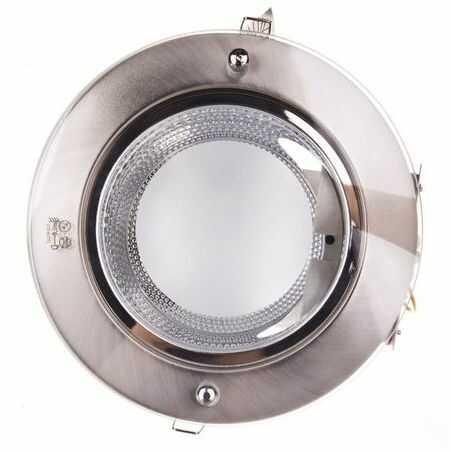 Oprawa downlight 2x 20W E27 220-240V IP20 180mm SHIRO DLO-220-SC 18290