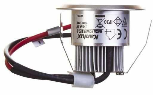 Oprawa wstropowa LED 1W IIIkl. 10V IP20 HAXA-DSO POWER LED-B aluminium 08103
