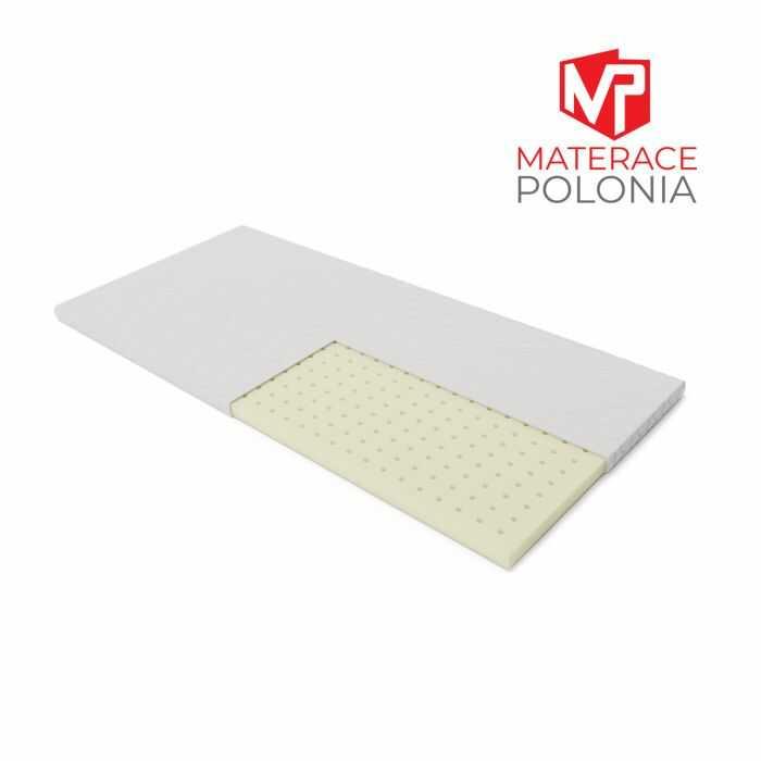 materac nawierzchniowy BIELIK MateracePolonia 90x200 H1 + DARMOWA DOSTAWA