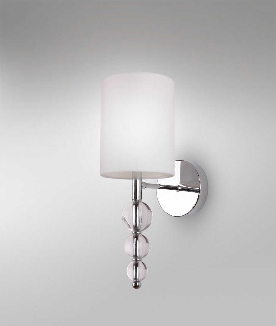 Kinkiet Elegance W0600 oprawa ścienna klasyczna biała Maxlight