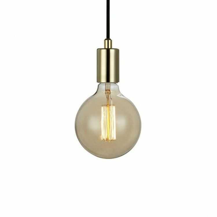 Lampa wisząca SKY 106170 Markslojd pojedynczy zwis w kolorze mosiądzu