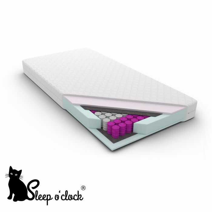 materac kieszeniowy pocket ESPERANZA sleep o''clock 80x200 H1 + RATY