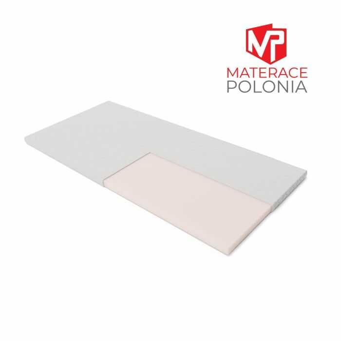 materac nawierzchniowy WYBOROWY MateracePolonia 120x200 H1 + DARMOWA DOSTAWA