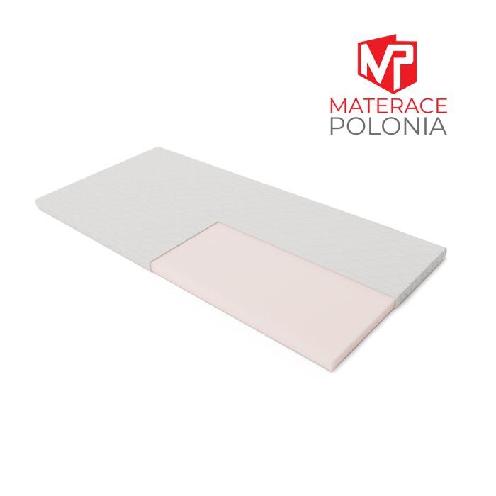 materac nawierzchniowy WYBOROWY MateracePolonia 200x200 H1 + DARMOWA DOSTAWA