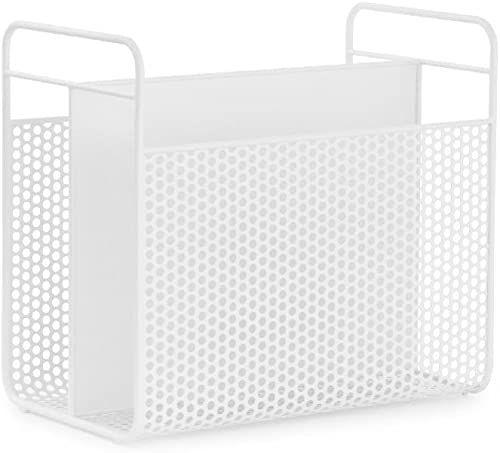 Normann Copenhagen Analogowy stojak na gazety, biały, wys. : 36,5 x dł.: 40 x śr