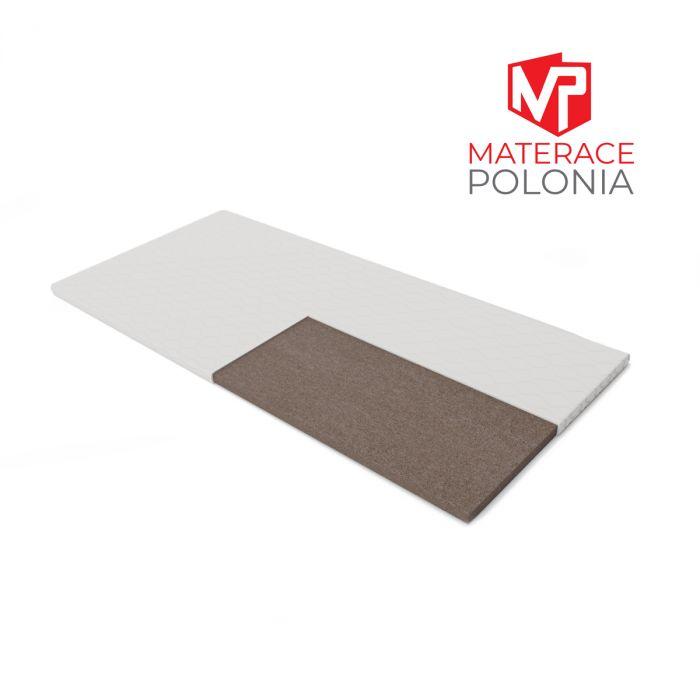 materac nawierzchniowy ŻUBR MateracePolonia 90x200 H4 + 2 lat gwarancji