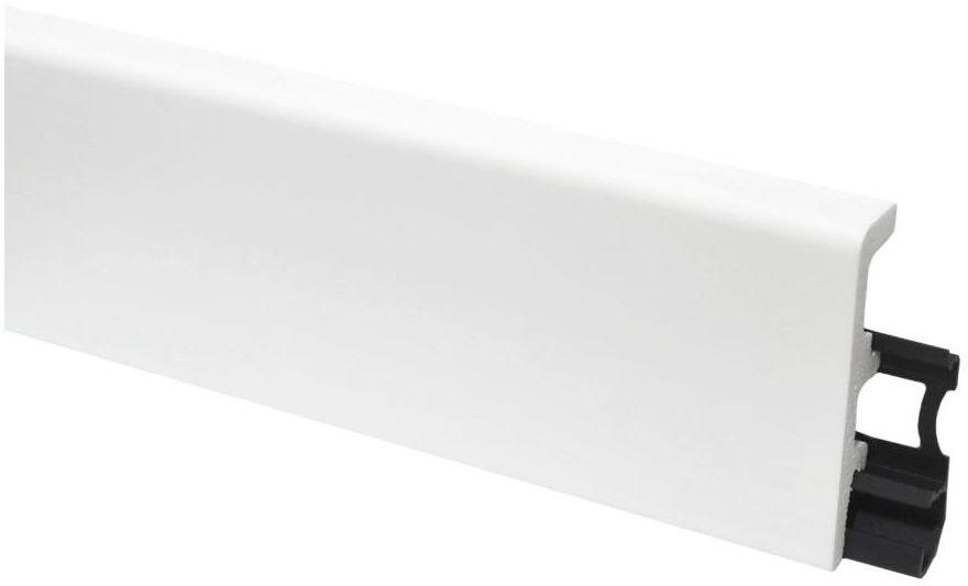 Listwa przypodłogowa pcv Vega P0810 Biała 80mm Arbiton