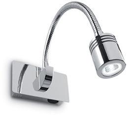 Kinkiet Dynamo AP1 031460 Ideal Lux nowoczesna oprawa ścienna w kolorze chromu