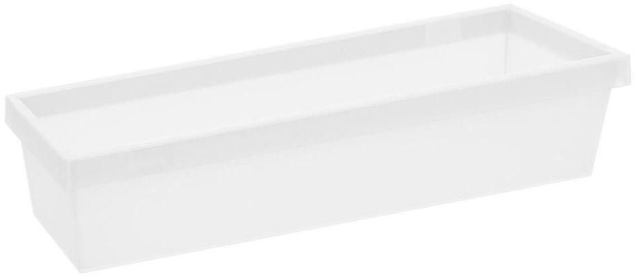Pojemnik do szuflad 30 x 10 x 6.7 cm biały Delinia iD