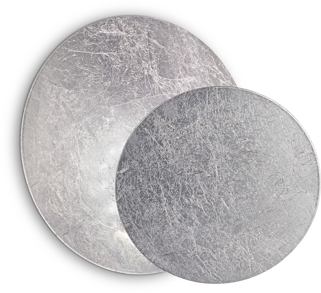 Kinkiet Tick 238951 Ideal Lux lampa ścienna w kolorze srebra