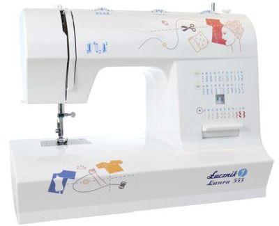 Maszyna do szycia ŁUCZNIK Laura 555.>> RabatoMania! Piąty produkt do -99% TANIEJ! ODBIÓR W 29MIN DARMOWA DOSTAWA SPRAWDŹ!