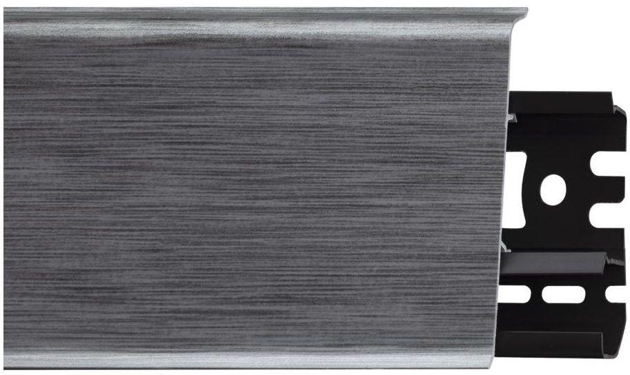 Listwa przypodłogowa pcv Indo 70 Aluminium Arbiton