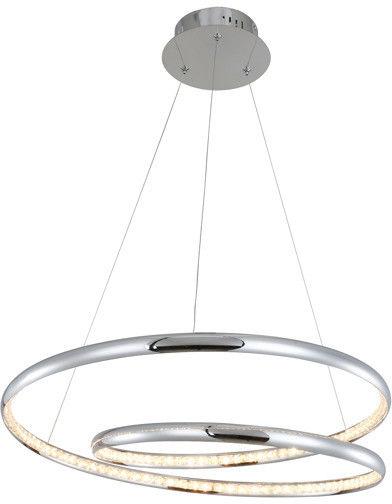 Lampa wisząca BALVI 30W LED srebrny MP57056-A ZUMA LINE