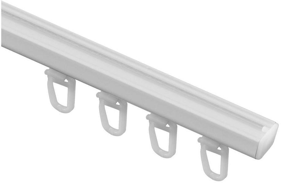 Szyna sufitowa BERGEN 150 cm biała aluminiowa GARDINIA