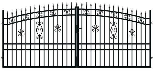 Brama Alicja 2 400 x 175