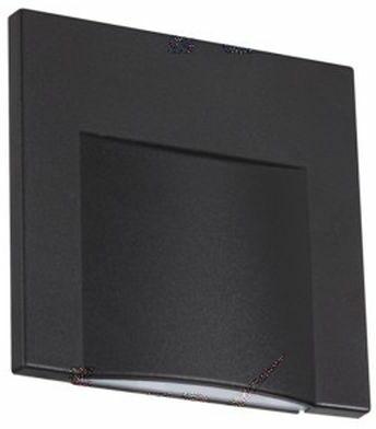 Oprawa przyschodowa czarna ERINUS LED L B-WW 33332