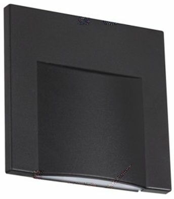 Oprawa przyschodowa czarna ERINUS LED L B-NW 33333