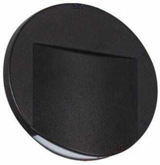 Oprawa przyschodowa czarna ERINUS LED O B-WW 33334