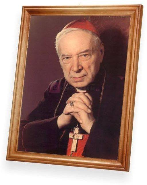 Obraz - Kardynał Stefan Wyszyński 27x23