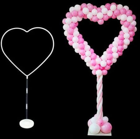 Stojak na balony, obręcz na nodze Serce