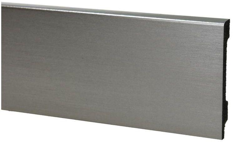 Listwa przypodłogowa pcv Verona KX05 Inox 80 mm Korner