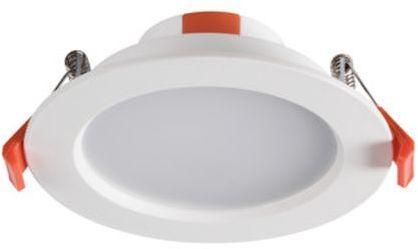 Oprawa downlight 6W LED 230V 3000K 3900lm LED LITEN LED 6W-WW 25560
